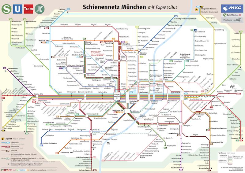 Schienennetzplan