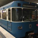 U-Bahnの電車